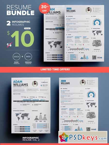Use infographic resume