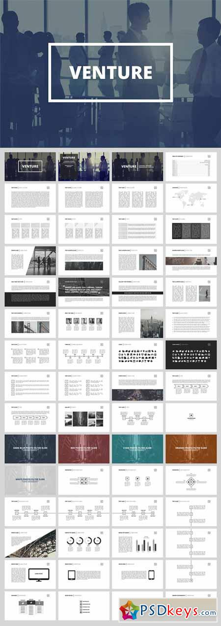 Venture - Business Presentation 305017