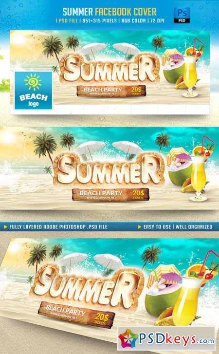 Summer Facebook Cover 11540649