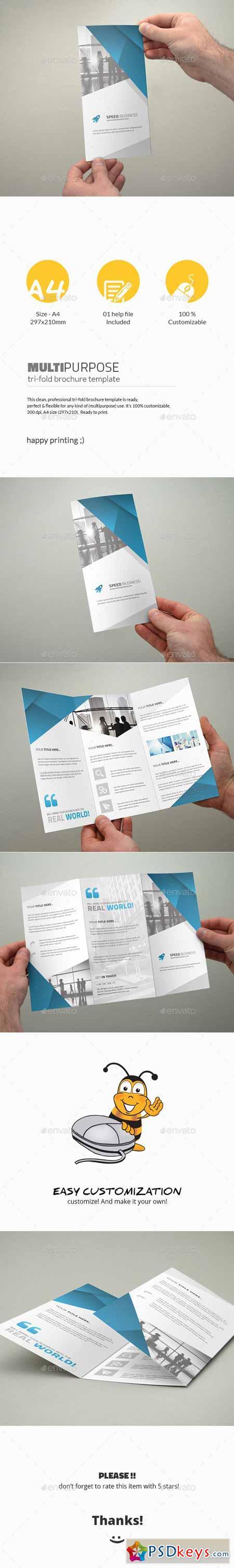Tri-Fold Brochure - Multipurpose 11390783