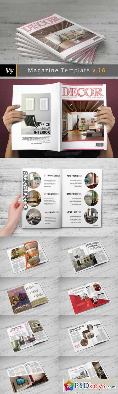 Multipurpose Magazine Template 308368