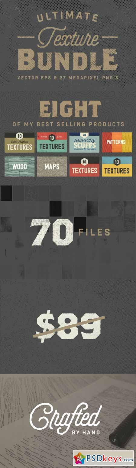 Ultimate Bundle - 70 Textures 298260