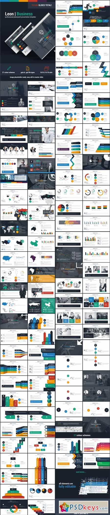 Leon Business Powerpoint Presentation Template 11084650