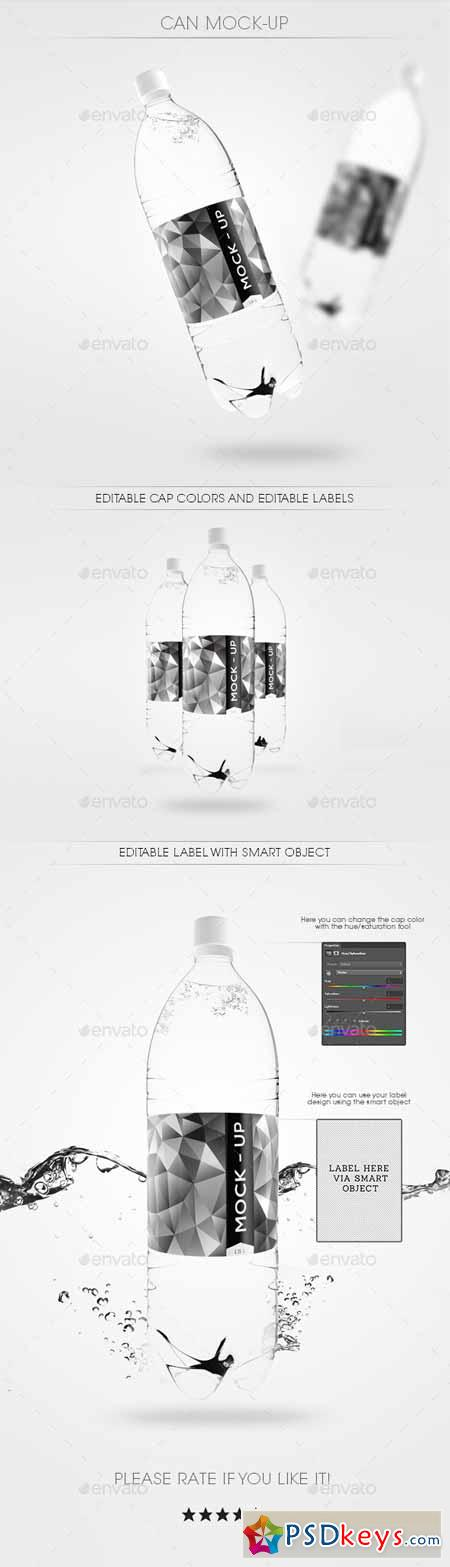 Water Bottle Mock Up 11687170