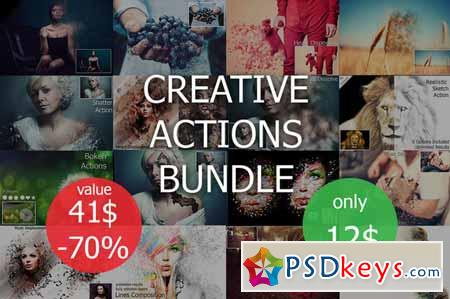 Actions Bundle (Limited Time Offer) 309466
