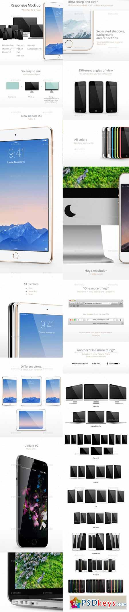 Responsive Screen Mock-Ups 5866235