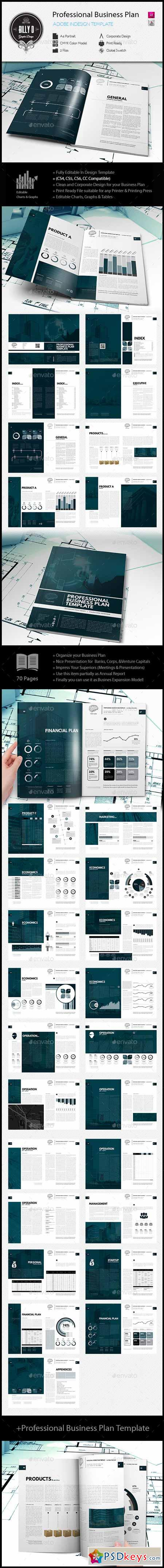 Professional Business Plan Template 10231493