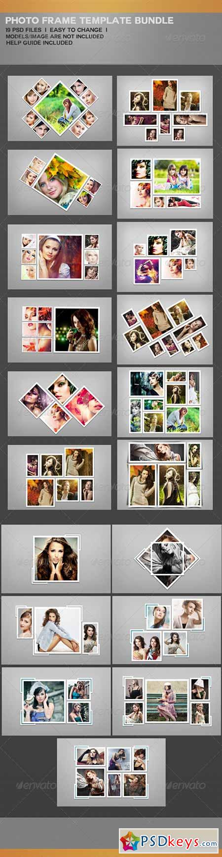 Photo Frame Template Bundle 7525302