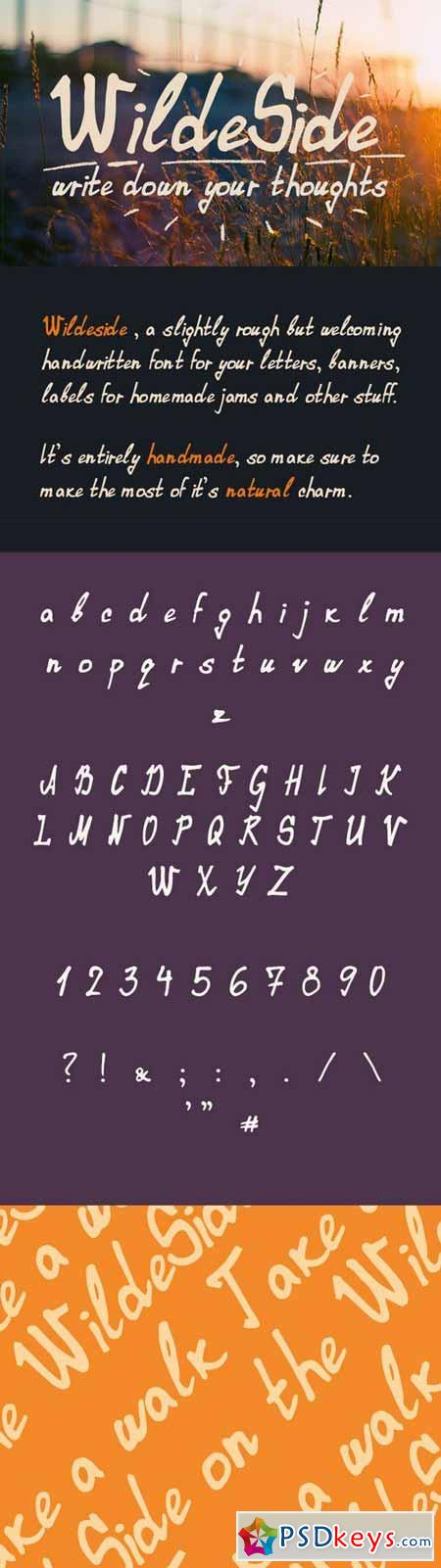 Wildeside Font
