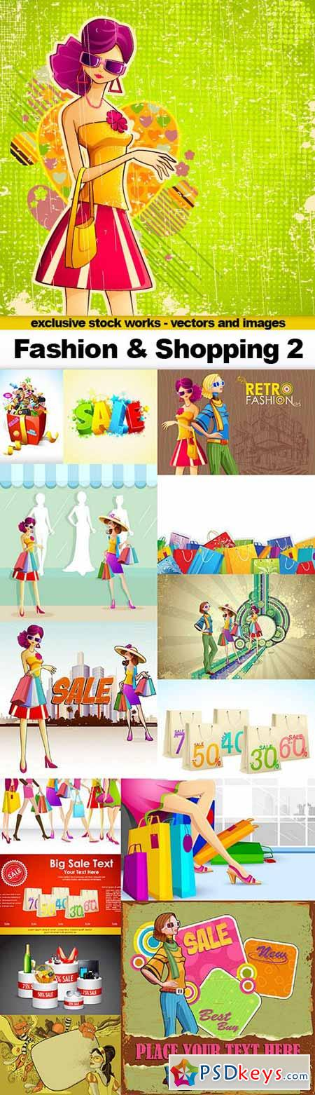 Fashion & Shopping 2 - 15x EPS