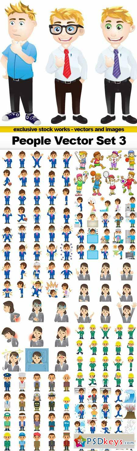 People Vector Set 3 - 10x EPS