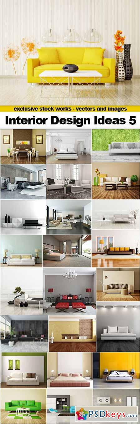 Interior Design Ideas 5 - 25x UHQ JPEG