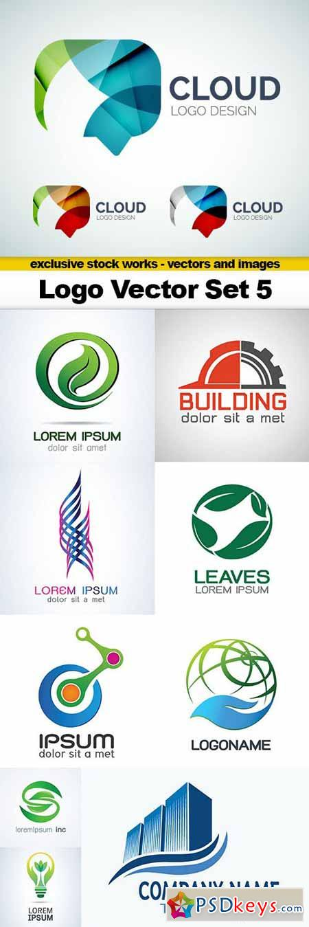Logo Vector Set 5 - 10x EPS