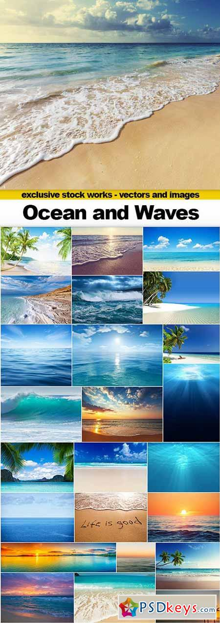 Ocean and Waves - 25x UHQ JPEG