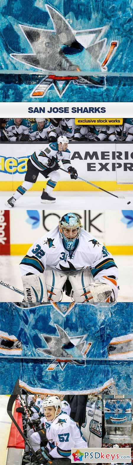 San Jose Sharks - 7 UHQ JPEG