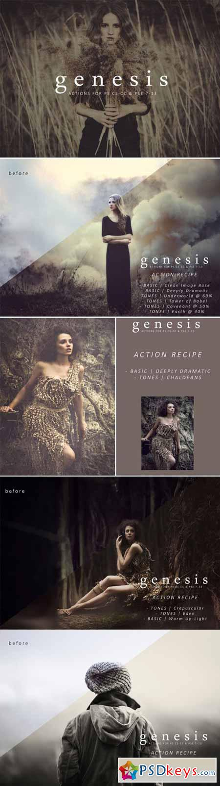 Genesis Action Collection 280104