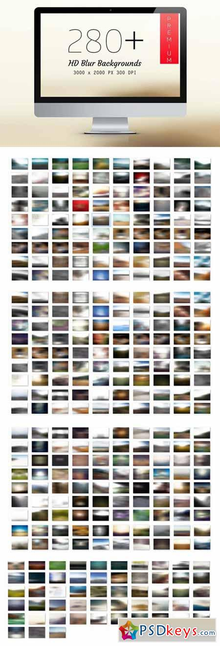 280+ Premium Blurred Backgrounds 6490