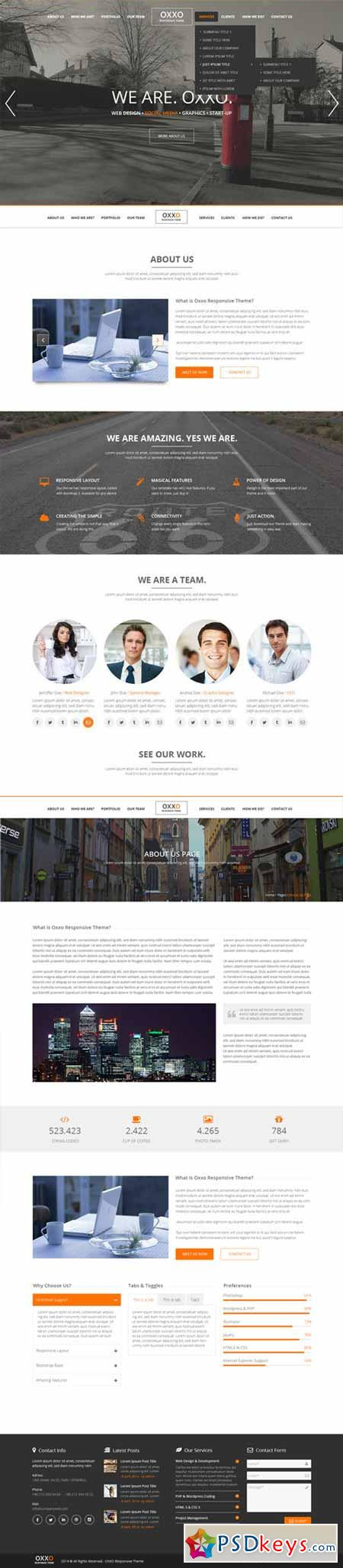 Oxxo Multipurpose PSD Template 68551