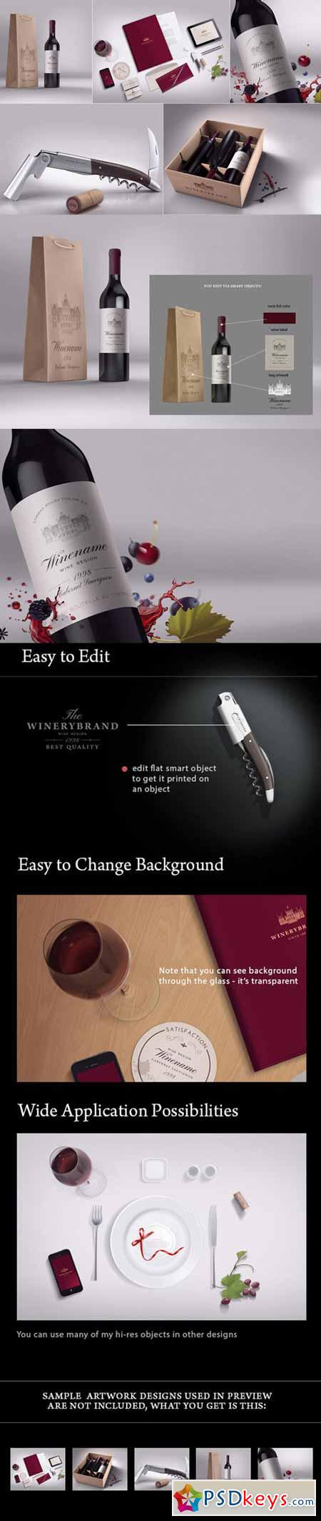 Wine Branding Bundle 15737