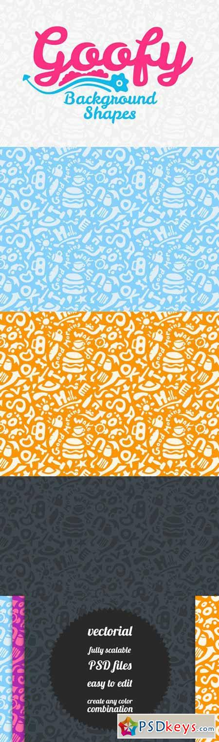 Goofy Background Pattern 92258