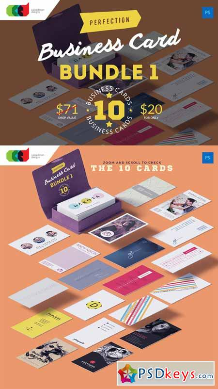 Perfection - Business Card Bundle 1 317982