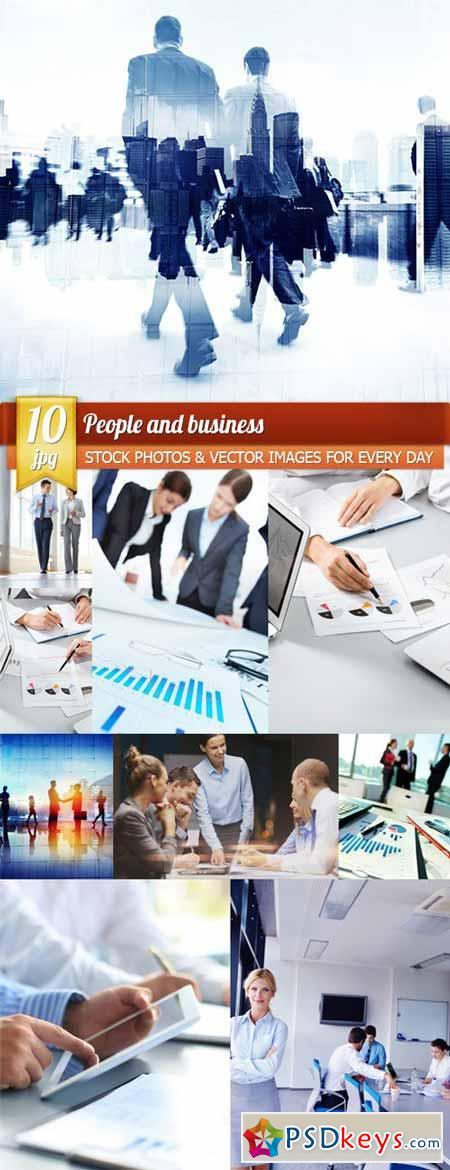 People and business, 10 x UHQ JPEG