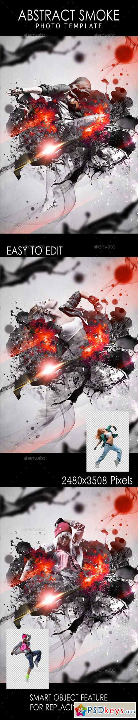 Abstract Smoke Photo Template 11255305