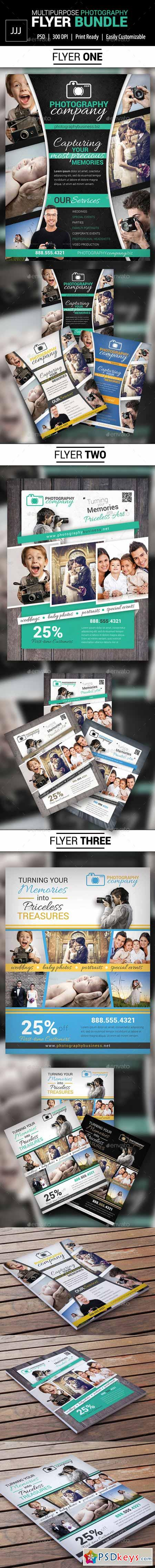 Photography Business Flyer Bundle 10844183