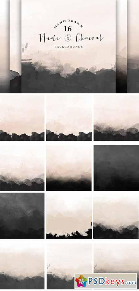 Nude and Charcoal backgrounds 87359