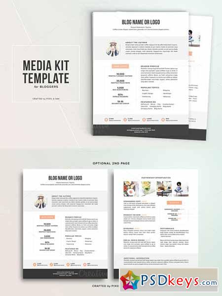 Media kit template no1 324052 free download photoshop vector media kit template no1 324052 pronofoot35fo Image collections