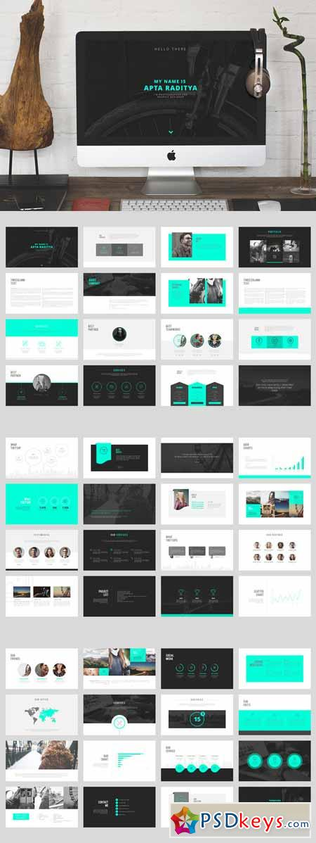 Portfolio powerpoint template 313178 free download for Powerpoint templates torrents