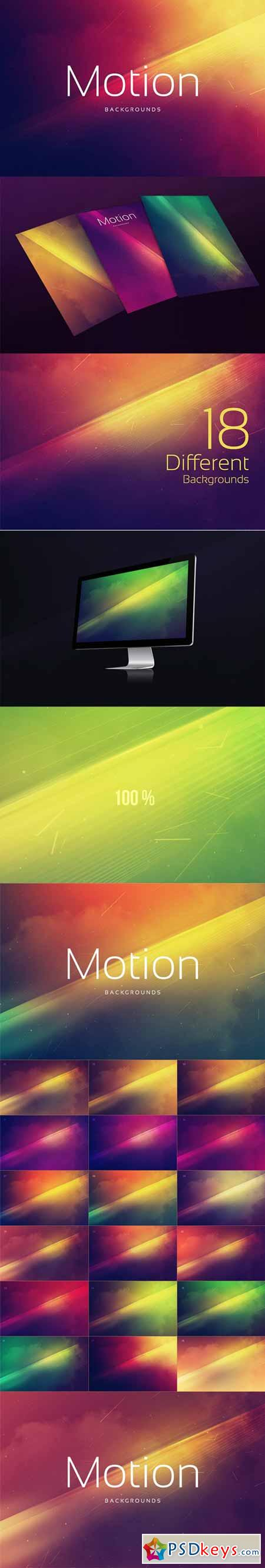 18 Motion Backgrounds 252808
