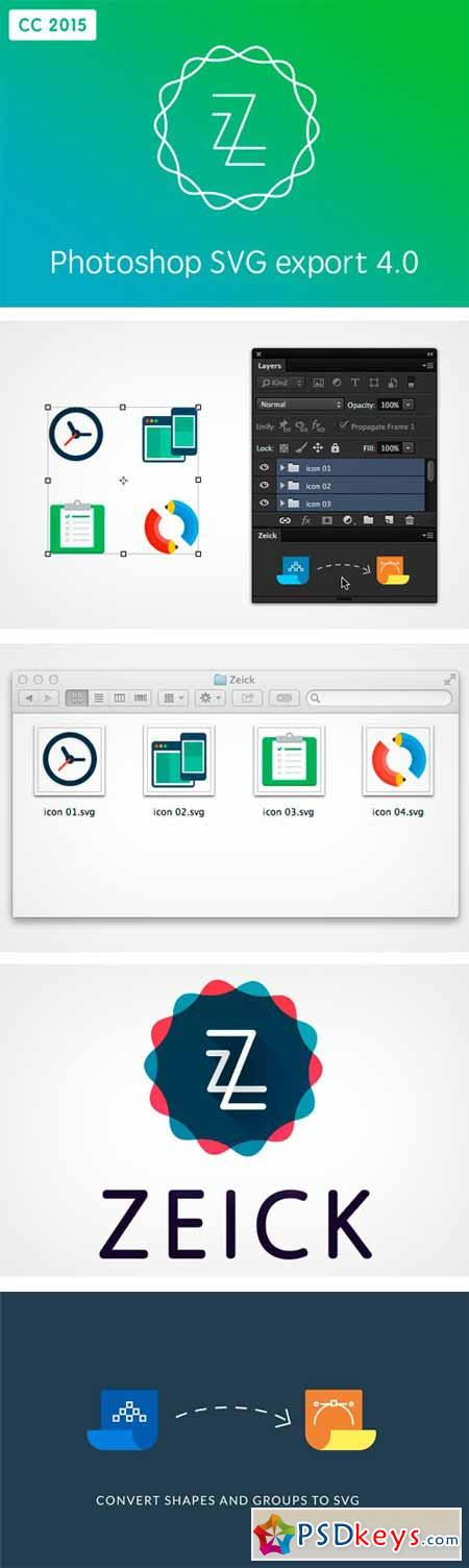 Zeick CC 2015 - Photoshop SVG Export 323612