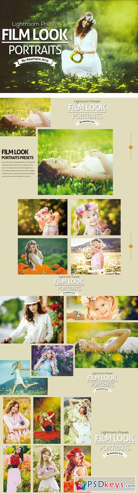 FILM LOOK Portraits Lightroom Preset 325744