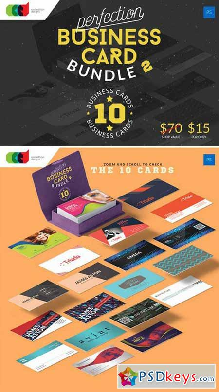 Perfection - Business Card Bundle 2 324728