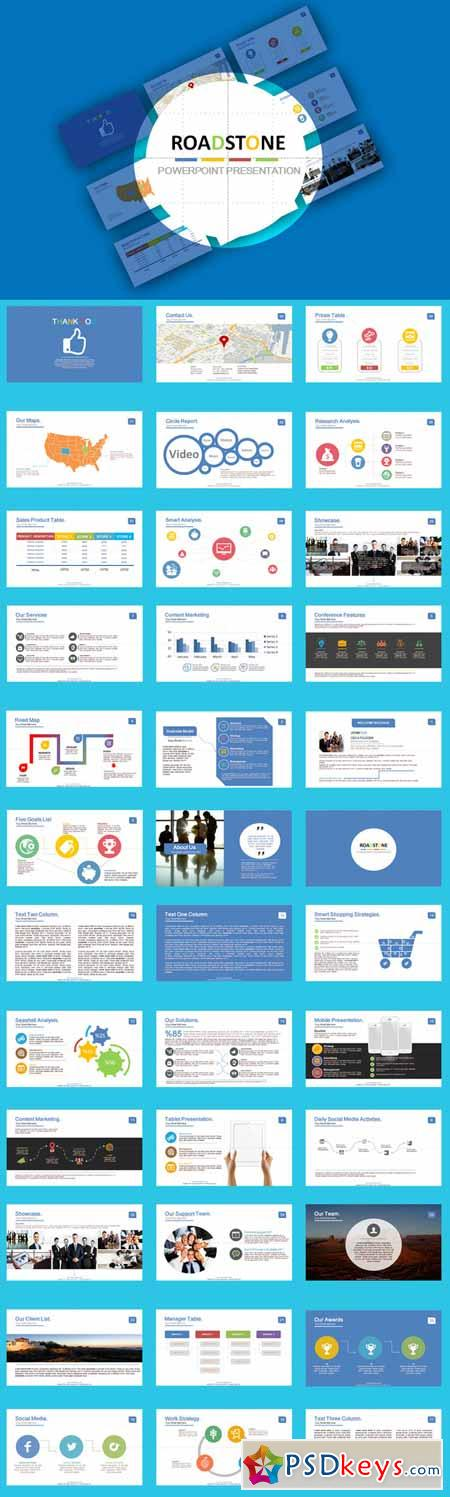 Roadstone powerpoint template 327809 free download for Powerpoint templates torrents
