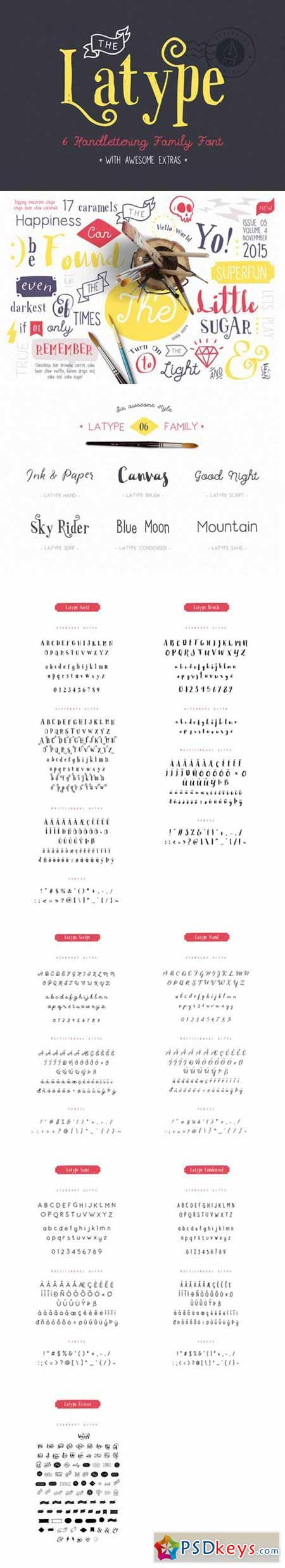 Latype Font Family 326464