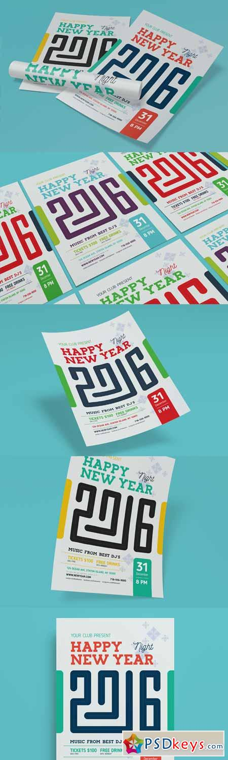 2016 New Year Poster 329930