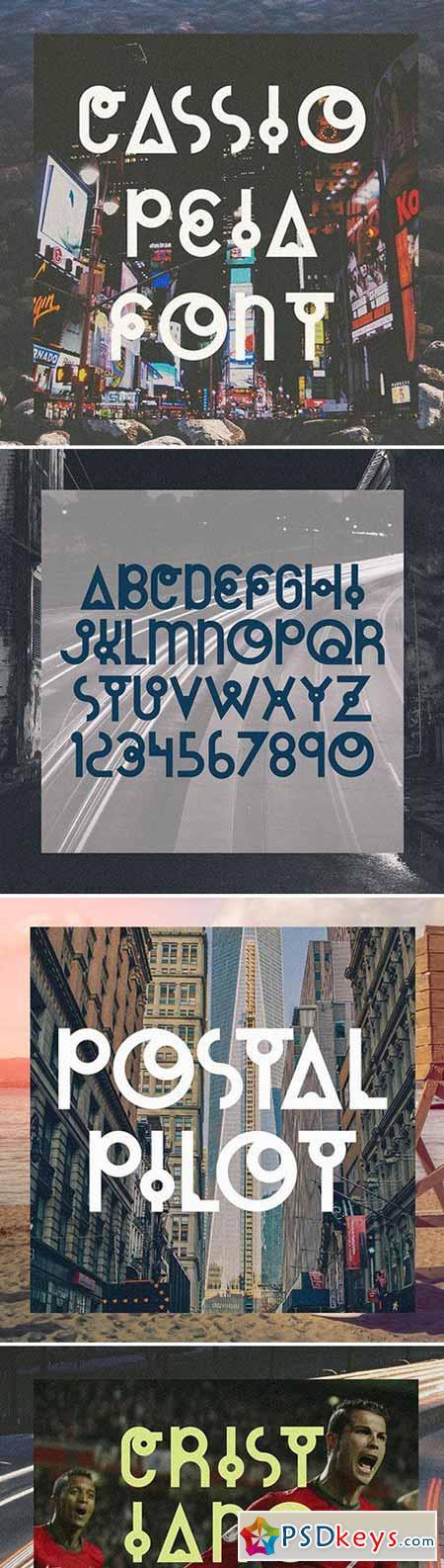 Cassiopeia - Typeface