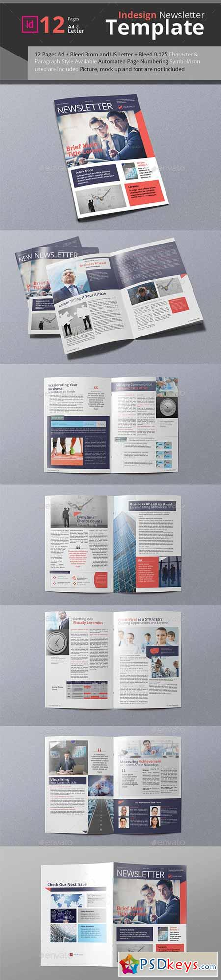 Business Newsletter A4 & Letter Size 11906994