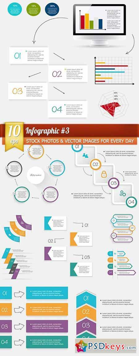 Infographic #3, 10 x EPS
