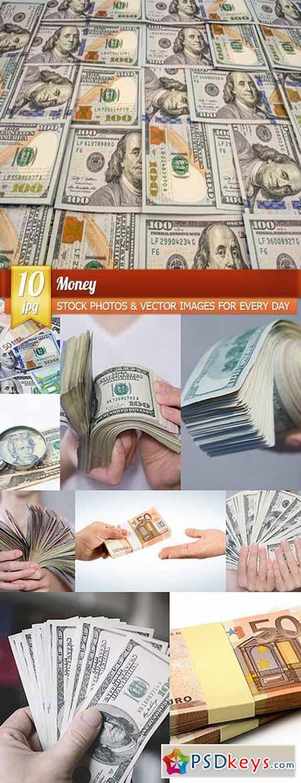 Money, 10 x UHQ JPEG