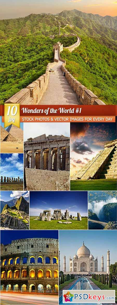 Wonders of the World 1, 10 x UHQ JPEG