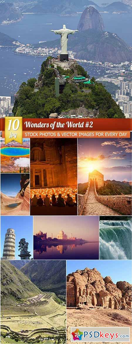 Wonders of the World 2, 10 x UHQ JPEG
