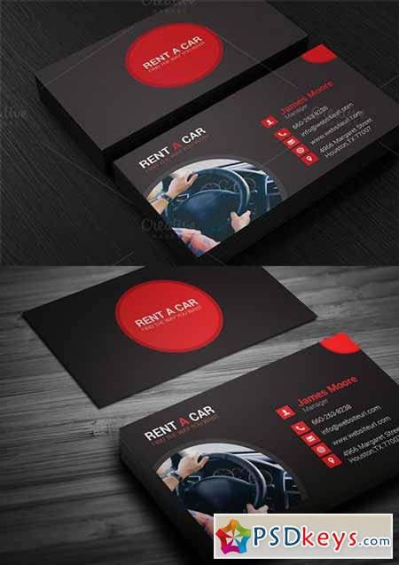 Rent a car business card 336742 free download photoshop vector rent a car business card 336742 colourmoves