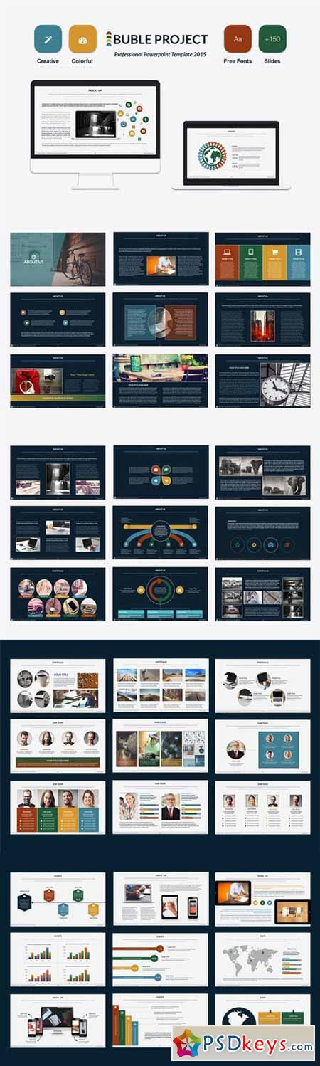 Bubble Powerpoint Template 338589