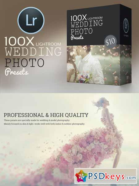 100 Wedding Lightroom Preset Pack 341472