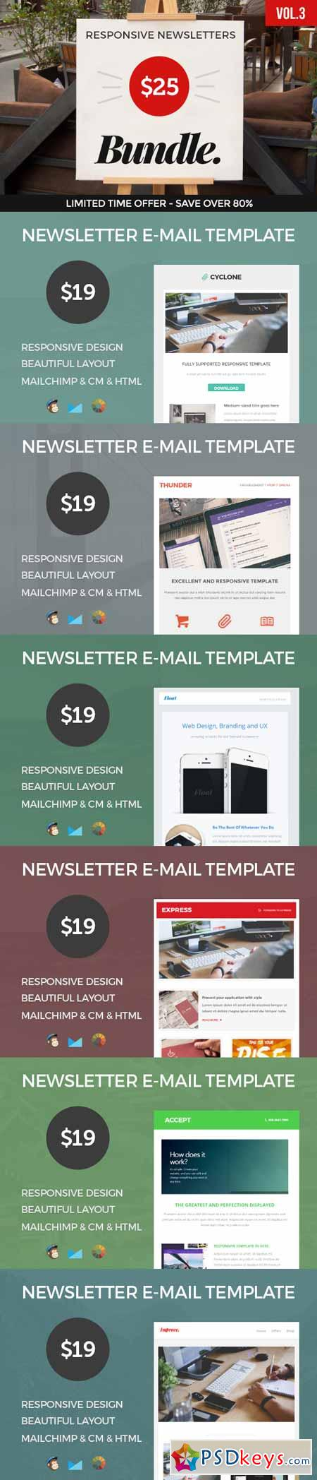 E-mail Newsletters Bundle • 79% OFF 338444