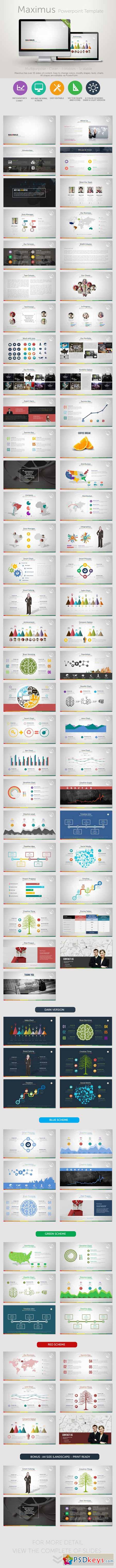 Maximus PowerPoint Presentation Template 8753194