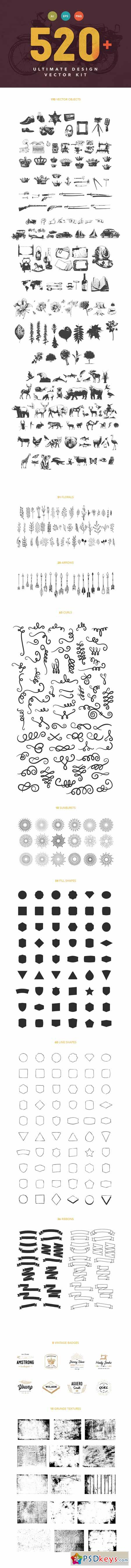 Pack of sign language Vector  Free Download